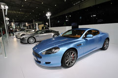 Aston Martin  pavilion Stock Image