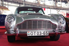 Aston Martin portrait stock photos
