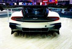 Aston Martin przy Dubaj Motorowym przedstawieniem obrazy stock