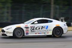 Aston martin racing car Stock Photos