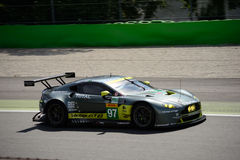 Aston Martin Racing V8 Vantage GTE test at Monza Royalty Free Stock Photography