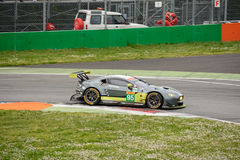 Aston Martin Racing Vantage GTE at Monza Royalty Free Stock Images