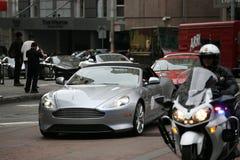 Aston martin rally in San Francisco Royalty Free Stock Photography