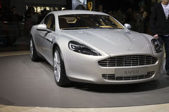 Aston Martin Rapide Royalty Free Stock Photography