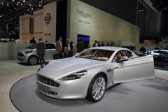 Aston Martin Rapide - 2010 Geneva Motor Show Royalty Free Stock Photography