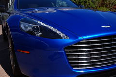 Aston Martin Rapide. At Exotics on Cannery Row royalty free stock photography