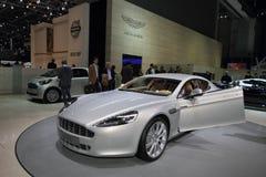 Aston Martin Rapide - salone dell'automobile 2010 di Ginevra Fotografia Stock Libera da Diritti