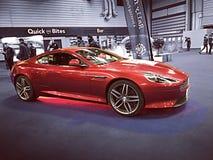 Aston Martin Red Image libre de droits