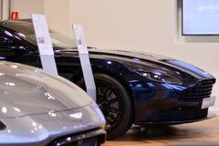 Aston Martin Showroom fotografía de archivo libre de regalías