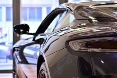 Aston Martin Showroom foto de archivo libre de regalías