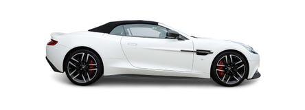 Aston Martin sportbil fotografering för bildbyråer