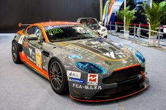 Aston Martin sports car royalty free stock photos