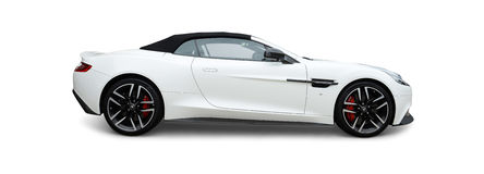 Aston Martin-sportwagen stock afbeelding