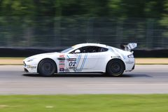 Aston Martin springa Royaltyfri Foto
