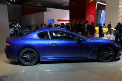 Aston Martin sur 64rd IAA Photo stock