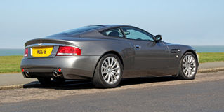 Aston martin v12 vanquish Stock Image