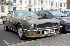 Aston Martin v8 vantage db8 1976 Stock Photo