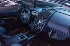 Aston Martin V-12 Vantage S interior Royalty Free Stock Photography