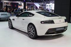 Aston Martin V8 Vantage showed in Thailand the 37th Bangkok Inte Stock Photos