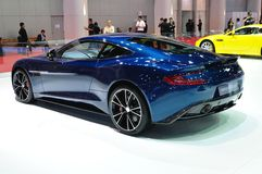 Aston martin Vanquish coupe Stock Photography