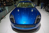Aston Martin Vanquish on Geneva Motor Show Royalty Free Stock Photo