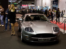Aston Martin Vanquish at Milano Autoclassica 2016 Stock Photo