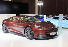 Aston martin vanquish sport car Stock Photo