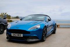 Aston Martin Vanquish Volante immagine stock libera da diritti
