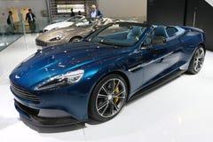 Aston Martin Vanquish Volante Cabrio Stockfotos