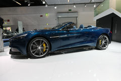 Aston Martin Vanquish Volante Cabrio Stockbilder