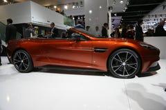 Aston Martin Vanquish Volante Cabrio Arkivfoton
