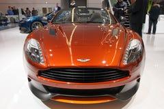 Aston Martin Vanquish Volante Cabrio car Royalty Free Stock Images