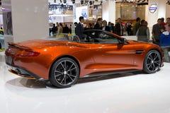 Aston Martin Vanquish Volante Cabrio Stock Photo