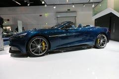 Aston Martin Vanquish Volante Cabrio Stock Images
