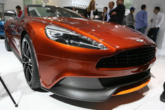Aston Martin Vanquish Volante Cabrio Royalty Free Stock Image
