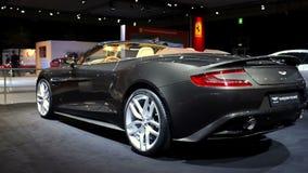 Aston Martin Vanquish Volante stock video footage