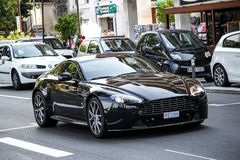 Aston Martin Vantage photographie stock
