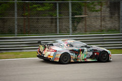 Aston Martin Vantage GT4 car racing at Monza Stock Photography
