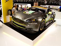 Aston Martin Vantage GT3 at Geneva 2017 Stock Photography