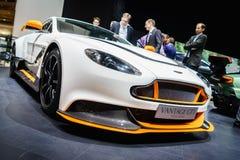 Aston Martin Vantage GT3, Motorshow Geneve 2015 Stock Fotografie