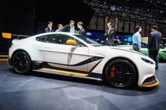 Aston Martin Vantage GT3, Motorshow Geneve 2015 Stock Afbeelding