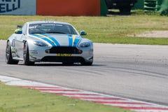 Aston Martin Vantage GT4 RACERBIL Arkivbilder