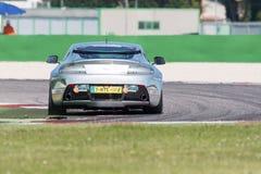 Aston Martin Vantage GT4 RACERBIL Arkivbild