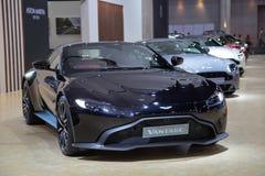 Aston Martin Vantage royalty-vrije stock afbeeldingen