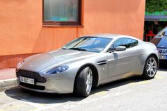 Aston Martin Vantage Stock Photo