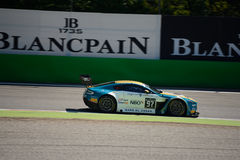 Aston Martin Vantage V12 GT3 at the Monza Circuit Stock Image
