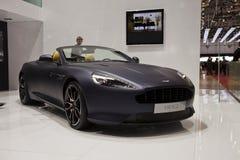 Aston Martin Virage royalty free stock images