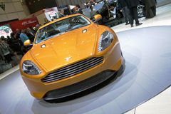 Aston Martin Virage World Premiere Stock Image