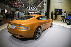 Aston Martin Virage World Premiere Royalty Free Stock Images