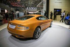 Aston Martin Virage World Premiere royalty free stock images